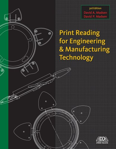Print Reading for Engineering and Manufacturing Technology  3rd 2013 edition cover
