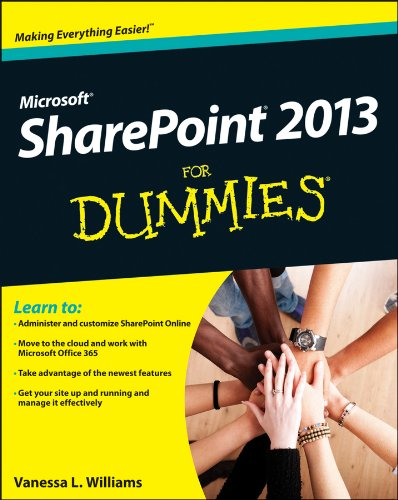 SharePoint 2013 for Dummies   2013 edition cover