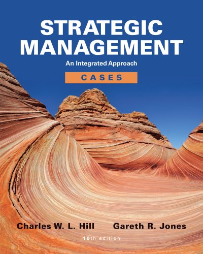 Strategic Management Cases An Integrated Approach 10th 2013 edition cover