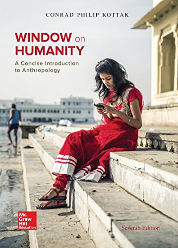 Window on Humanity: A Concise Introduction to General Anthropology 7th 2015 edition cover