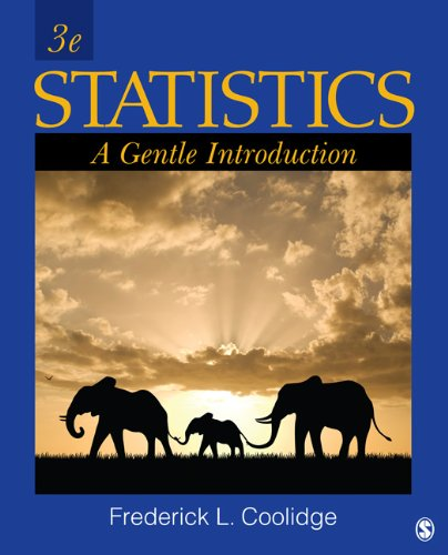 Statistics A Gentle Introduction 3rd 2013 edition cover