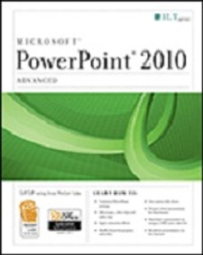 Powerpoint 2010: Advanced + Certblaster + Data  2010 edition cover