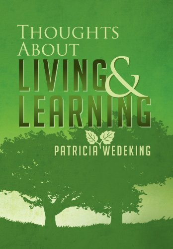 Thoughts About Living and Learning:   2013 edition cover