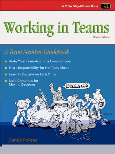 Working in Teams A Team Member Guidebook 2nd 2002 (Revised) edition cover