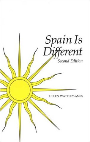 Spain Is Different  2nd 1999 edition cover