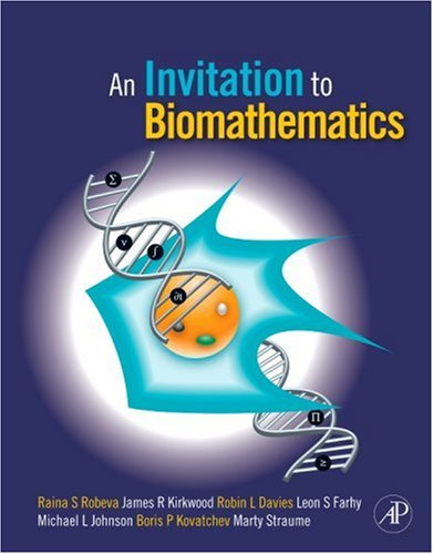 Invitation to Biomathematics   2008 9780120887712 Front Cover
