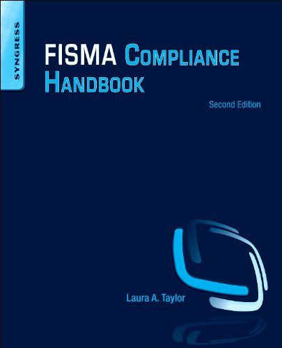 FISMA Compliance Handbook Second Edition 2nd 2013 edition cover