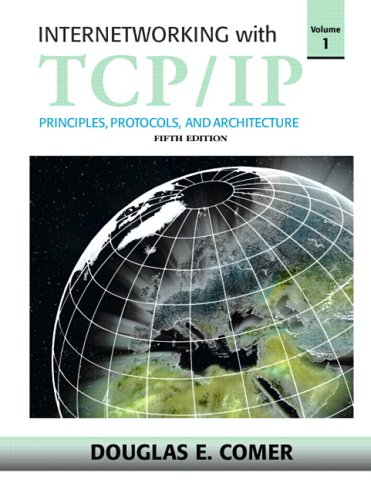 Internetworking with TCP/IP  5th 2006 (Revised) edition cover