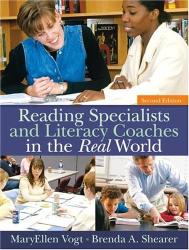 Reading Specialists and Literacy Coaches in the Real World  2nd 2007 edition cover