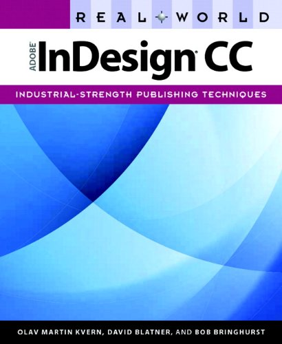 Real World Adobe Indesign CC   2014 edition cover