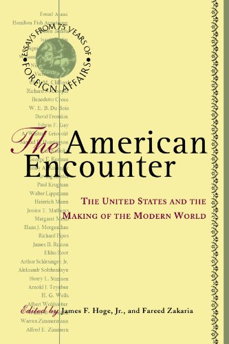 American Encounter The United States and the Making of the Modern World N/A edition cover