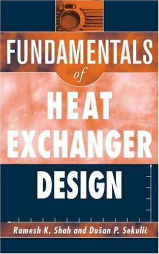 Fundamentals of Heat Exchanger Design   2003 edition cover