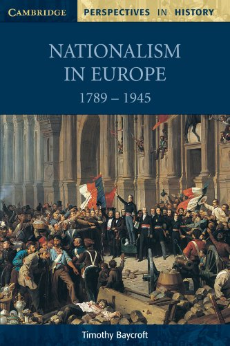 Nationalism in Europe 1789-1945   1998 edition cover