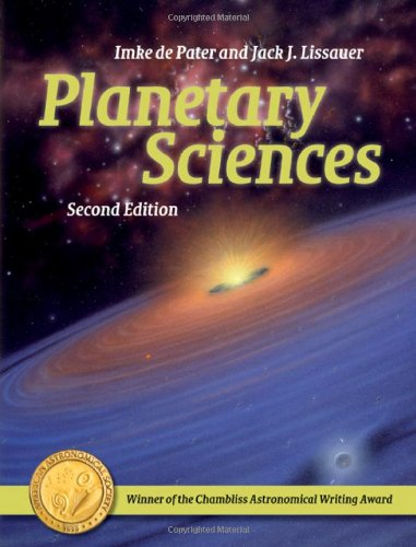 Planetary Sciences  2nd 2010 (Revised) edition cover