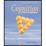 COGNITION-STUDY GUIDE 6th 2004 9780534608712 Front Cover