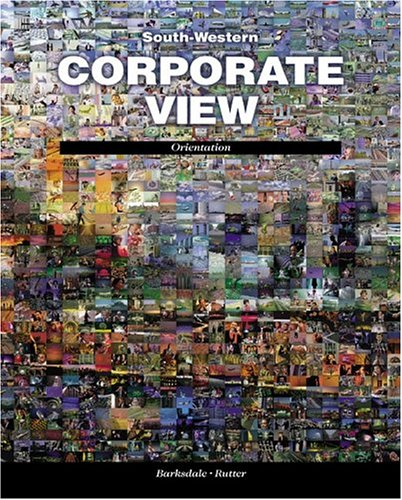 Corporate View Orientation  1999 9780538684712 Front Cover