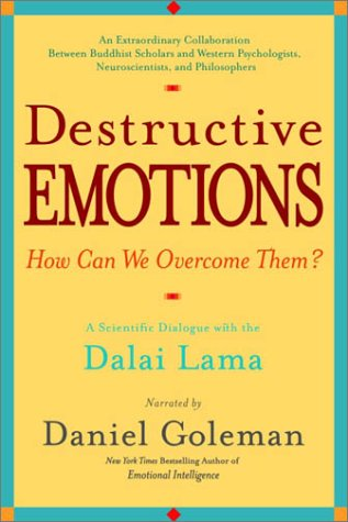 Destructive Emotions - How Can We Overcome Them? A Scientific Dialogue with the Dalai Lama  2003 edition cover