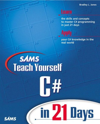 C# in 21 Days  2nd 2002 edition cover