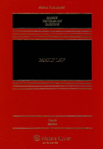 Family Law  4th 2010 (Revised) edition cover