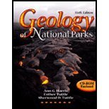 Geology of National Parks  6th 2004 (Revised) edition cover