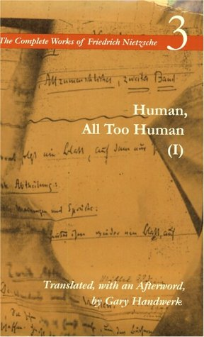 Human, All Too Human   1997 edition cover