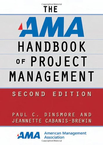 AMA Handbook of Project Management  2nd 2006 (Revised) edition cover