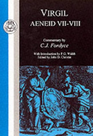 Virgil Aeneid VII and VIII Reprint  9780862921712 Front Cover