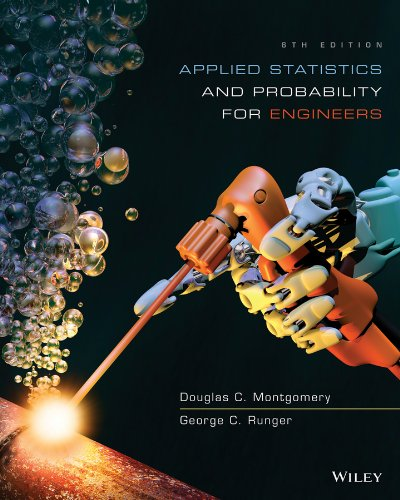 Applied Statistics and Probability for Engineers  6th 2014 9781118539712 Front Cover