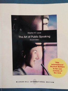 ART OF PUBLIC SPEAKING >CUSTOM<         N/A edition cover