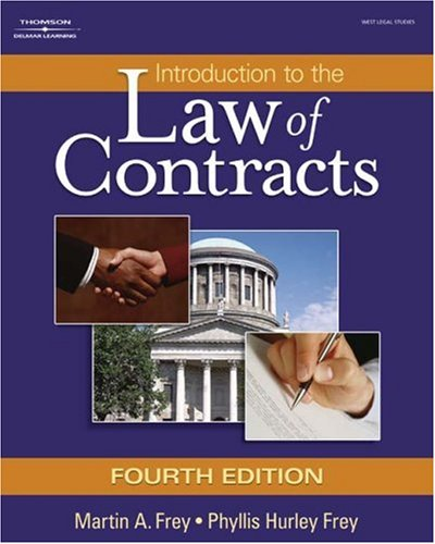 Introduction to the Law of Contracts  4th 2008 (Revised) 9781401864712 Front Cover