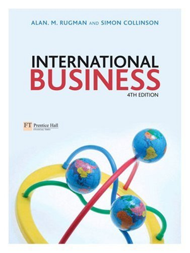 International Business with Companion Website with Gradetracker Student Access Card 4th 2006 (Revised) 9781405840712 Front Cover