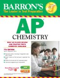 Barron's AP Chemistry  7th 2014 (Revised) edition cover
