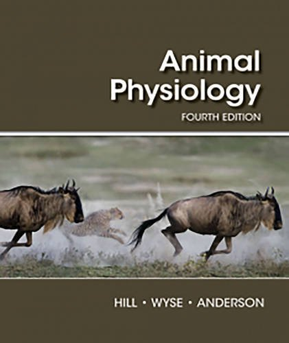 Animal Physiology  4th 2016 9781605354712 Front Cover