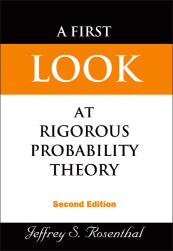 First Look at Rigorous Probability Theory 2nd 2006 edition cover