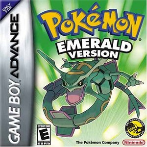 Pokemon Emerald Version - Game Boy Advance Game Boy Advance artwork