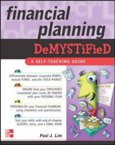 Financial Planning Demystified   2007 9780071476713 Front Cover