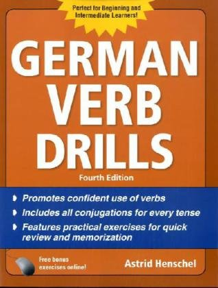 German Verb Drills  4th 2011 edition cover