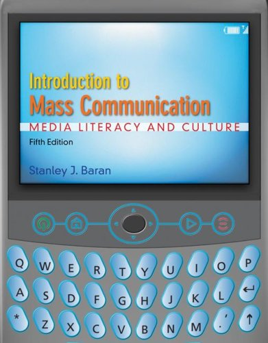 Introduction to Mass Communication Media Literacy and Culture 5th 2008 edition cover