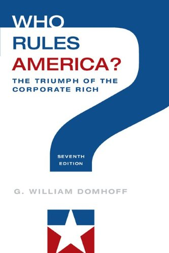 Who Rules America?: The Triumph of the Corporate Rich  2013 edition cover