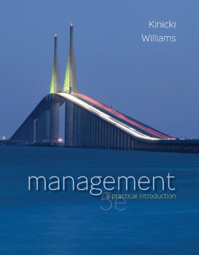 Management  5th 2011 edition cover