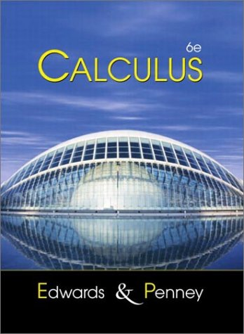 Calculus  6th 2002 (Revised) edition cover