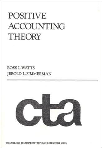 Positive Accounting Theory  1st 1986 edition cover