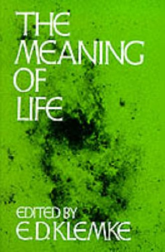Meaning of Life   1981 edition cover