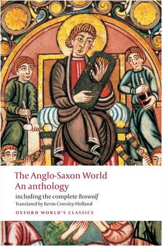 Anglo-Saxon World an Anthology   2009 edition cover