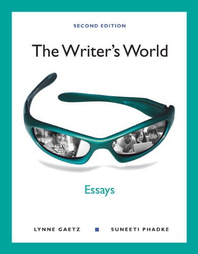 Writer's World Essays 2nd 2012 edition cover