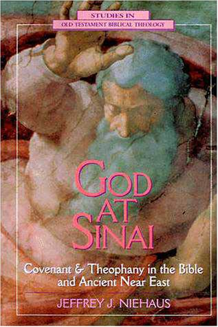 God at Sinai Covenant and Theophany in the Bible and Ancient near East  1995 edition cover
