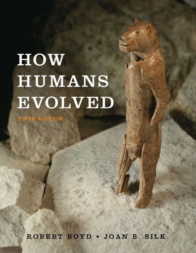 How Humans Evolved  5th 2009 edition cover