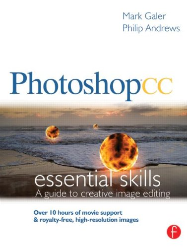 Photoshop CC: Essential Skills A Guide to Creative Image Editing  2014 edition cover