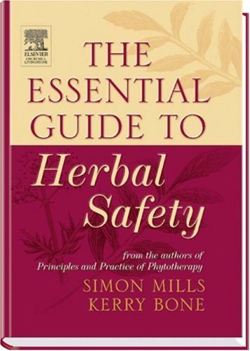 Essential Guide to Herbal Safety   2005 edition cover