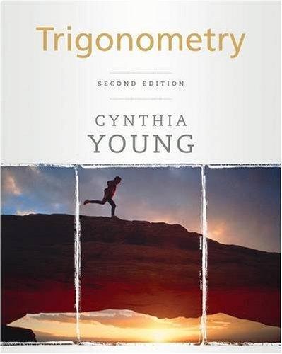 Trigonometry  2nd 2010 edition cover